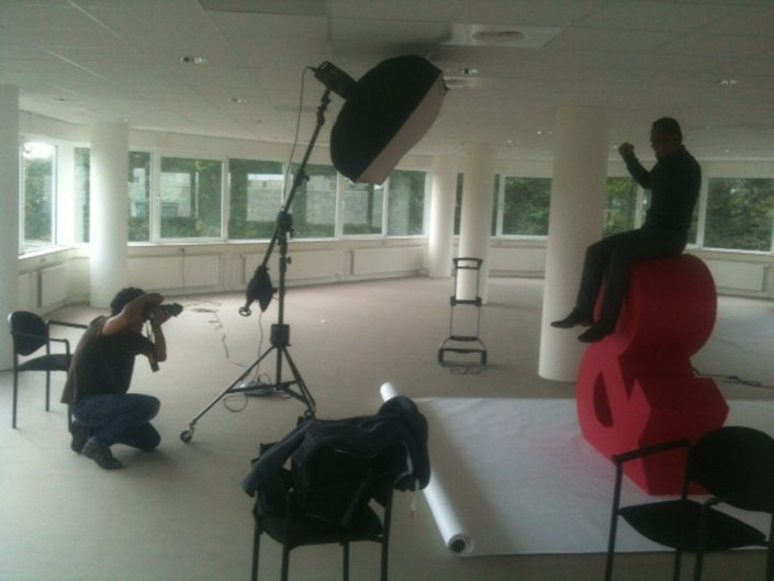 Behind the scenes 8